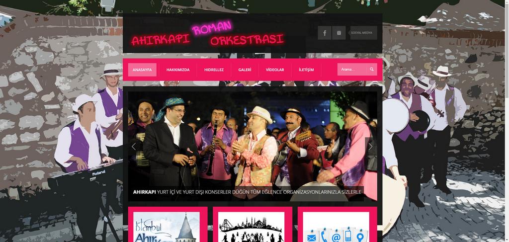 Ahırkapı websitesi Web sitemiz yenilendi